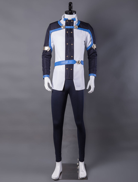 Milanoo Inspired By Sword Art Online The Movie Ordinal Scale Kirito Kirigaya Kazuto Cosplay Costume Halloween