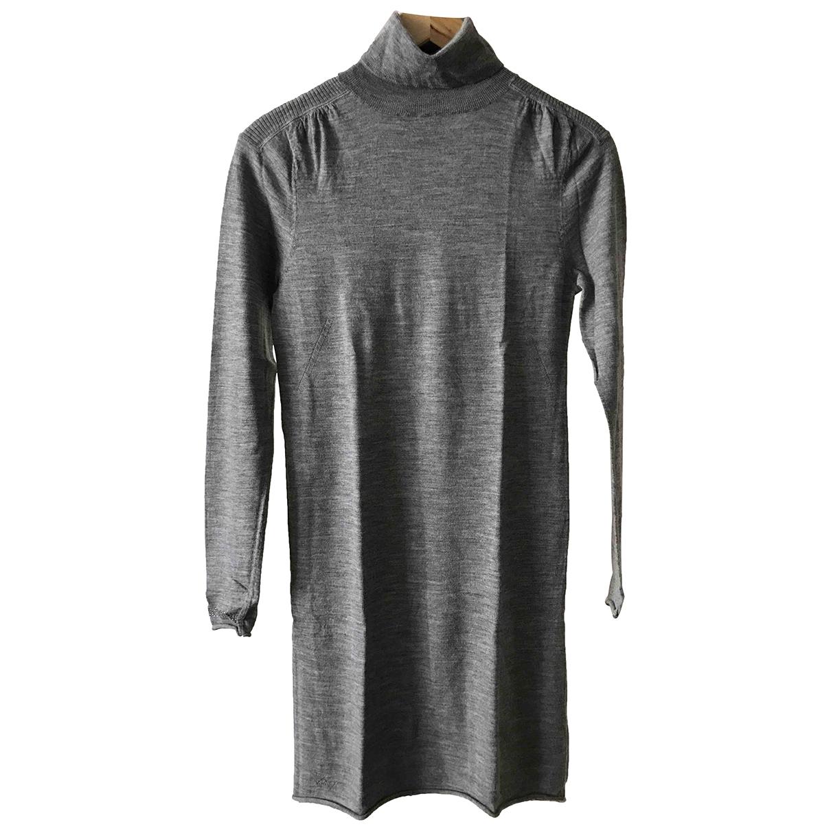 Zadig & Voltaire \N Kleid in  Grau Wolle