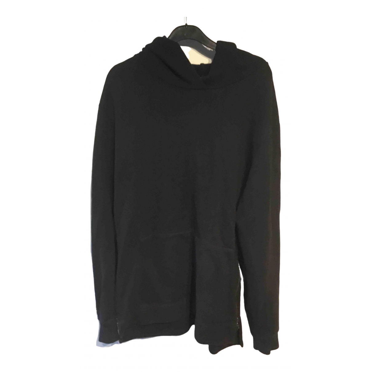 John Elliott \N Pullover.Westen.Sweatshirts  in  Schwarz Baumwolle