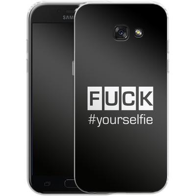 Samsung Galaxy A5 (2017) Silikon Handyhuelle - Fck Yourselfie von Statements