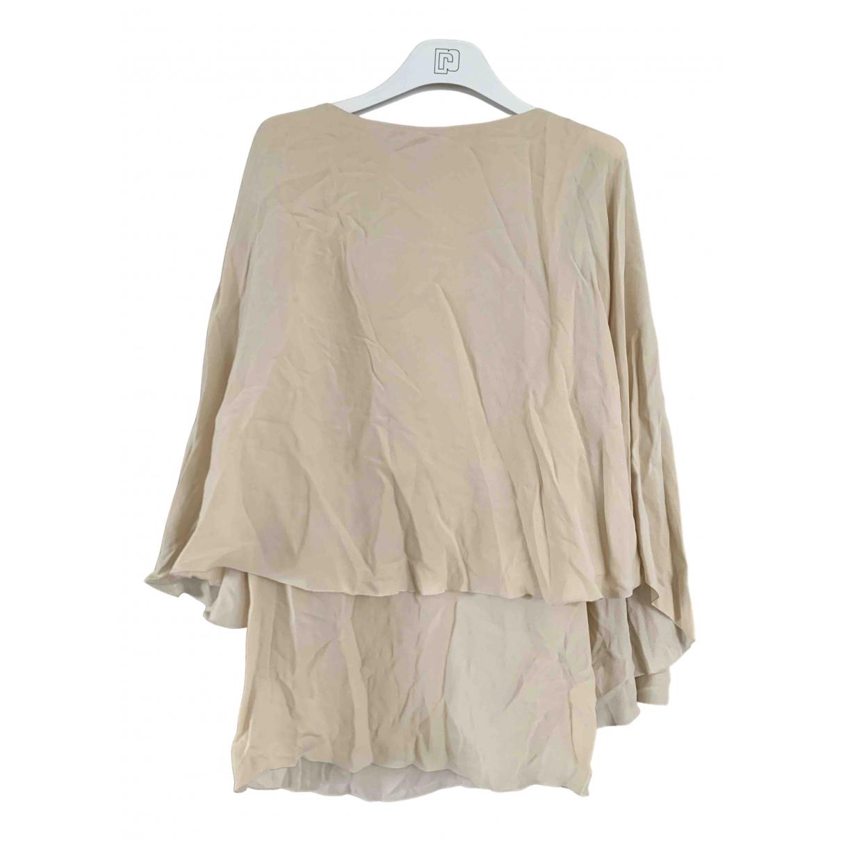 Lanvin N Beige Silk  top for Women 34 FR