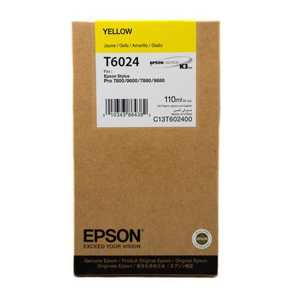 Epson T602400 Original Yellow Ink Cartridge