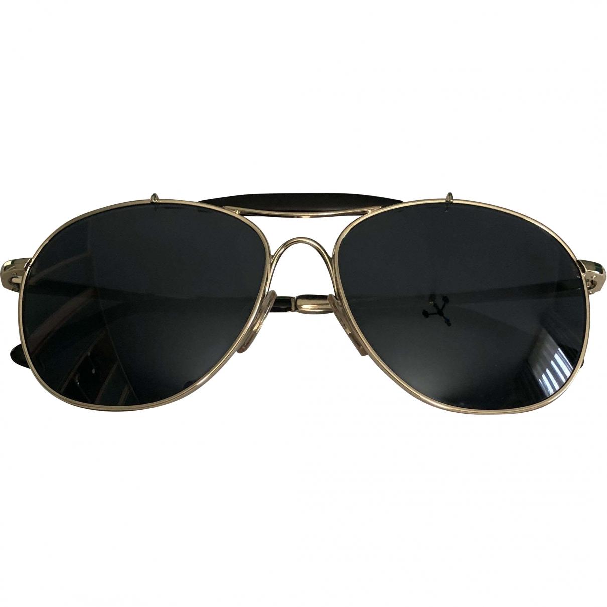Ralph Lauren \N Black Metal Sunglasses for Women \N