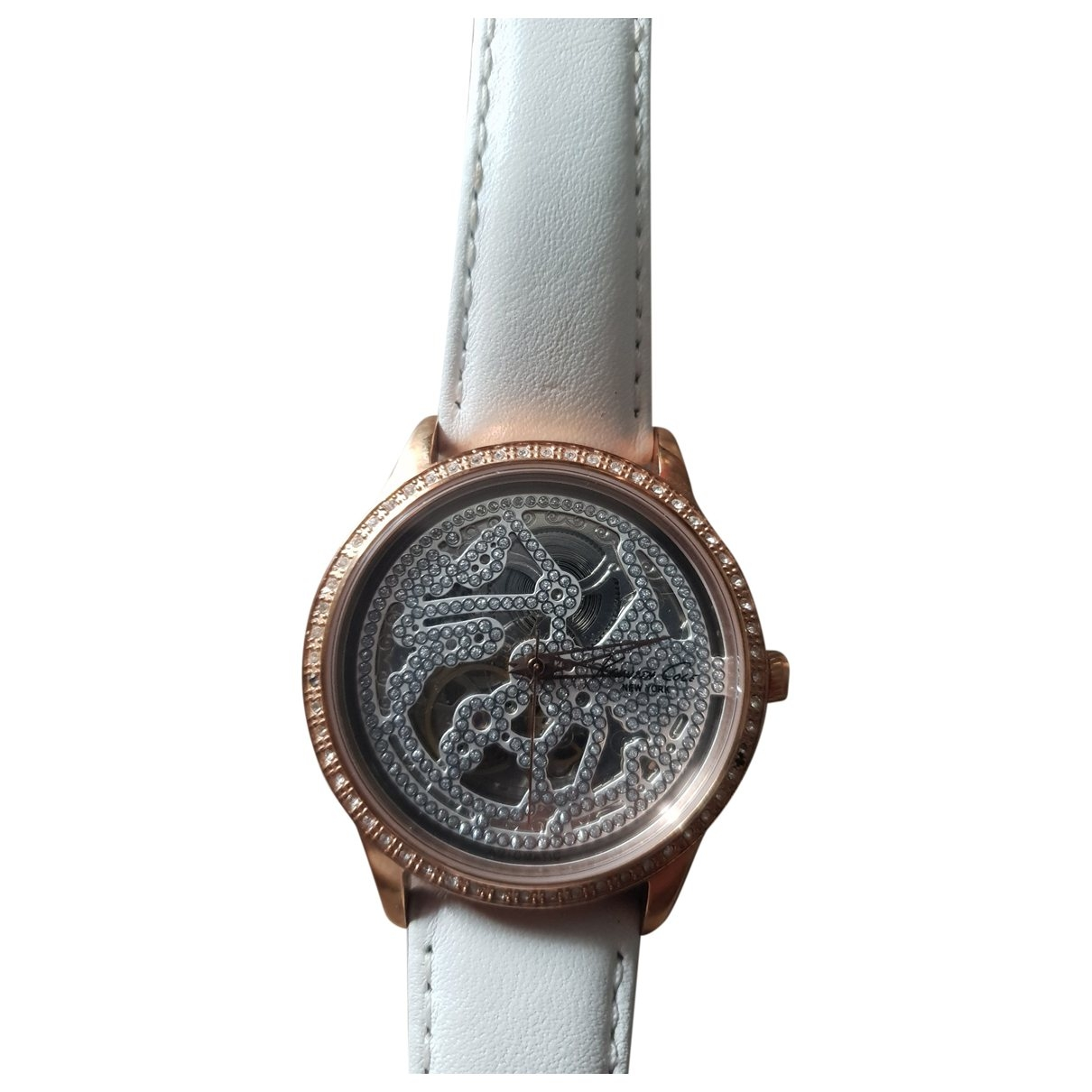 Kenneth Cole \N Uhr in  Rosa Stahl