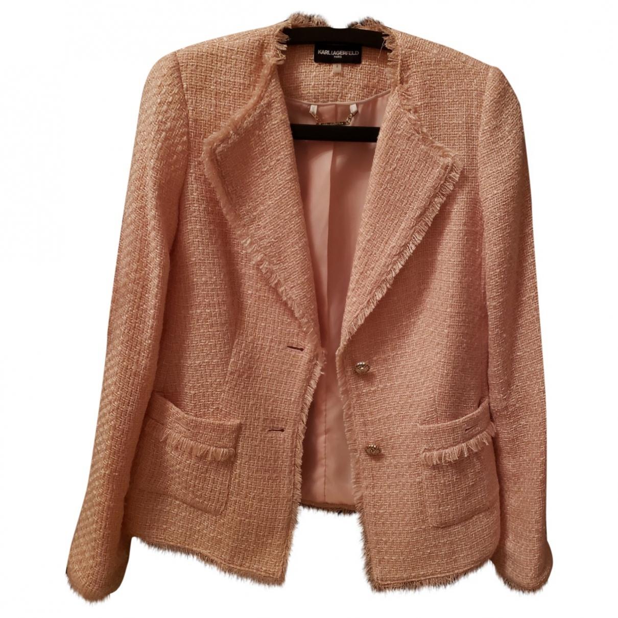 Karl Lagerfeld \N Pink jacket for Women 34 FR