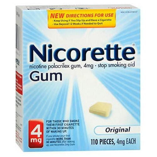Nicorette Gum Starter Kit Original 110 each by Nicorette