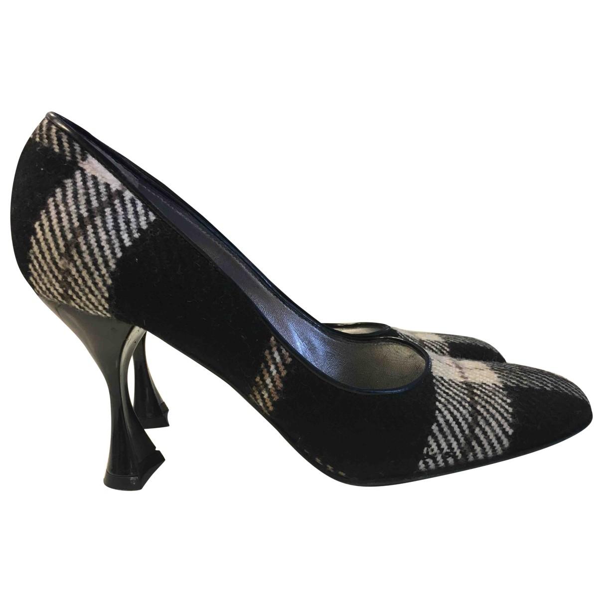 Dolce & Gabbana - Escarpins   pour femme en tweed - noir
