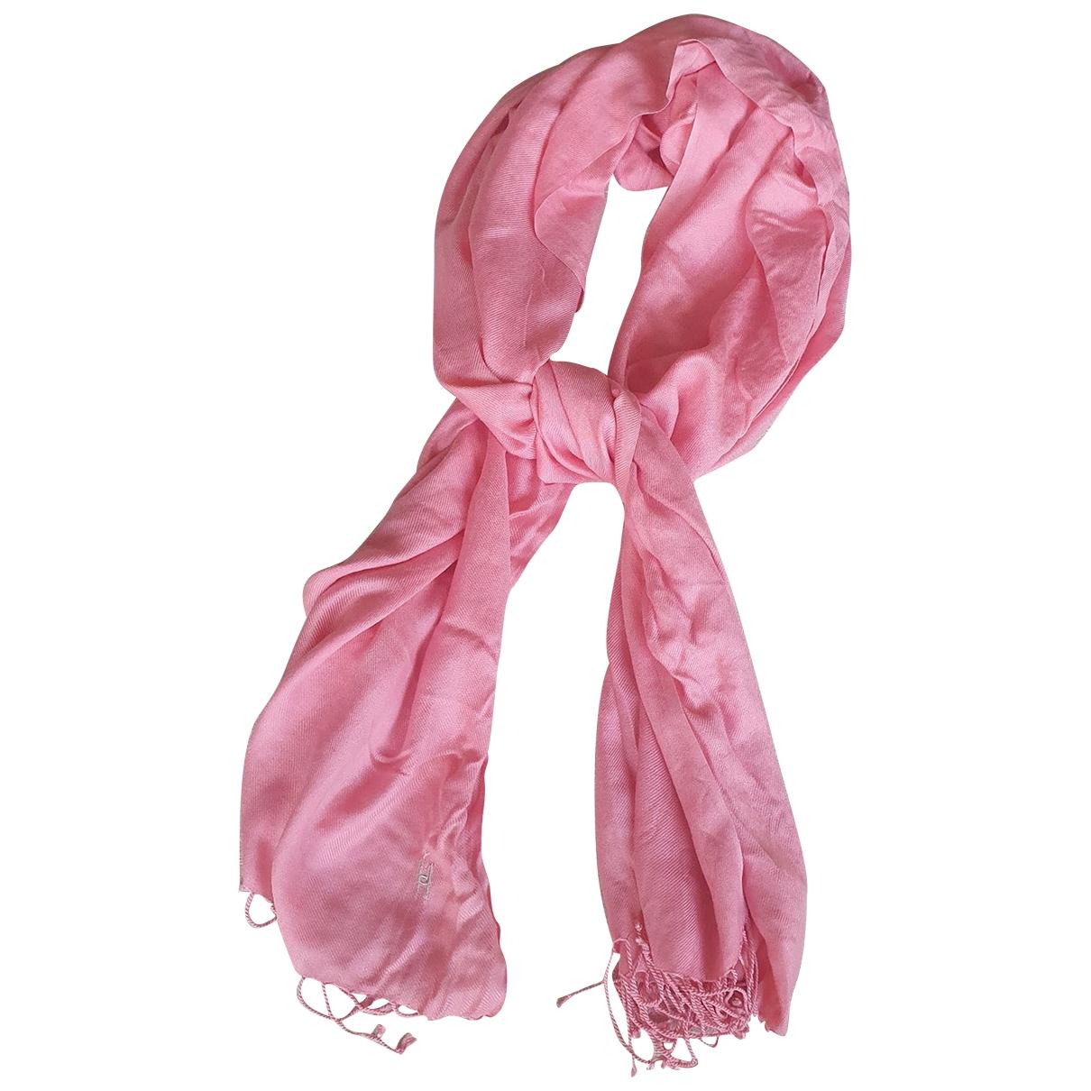 Ungaro Parallele - Foulard   pour femme en cachemire - rose
