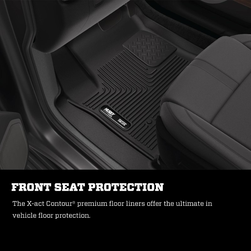 Husky Liners 54691 X-ACT Contour 2nd Seat Floor Liner 18-20 Lincoln Navigator Black