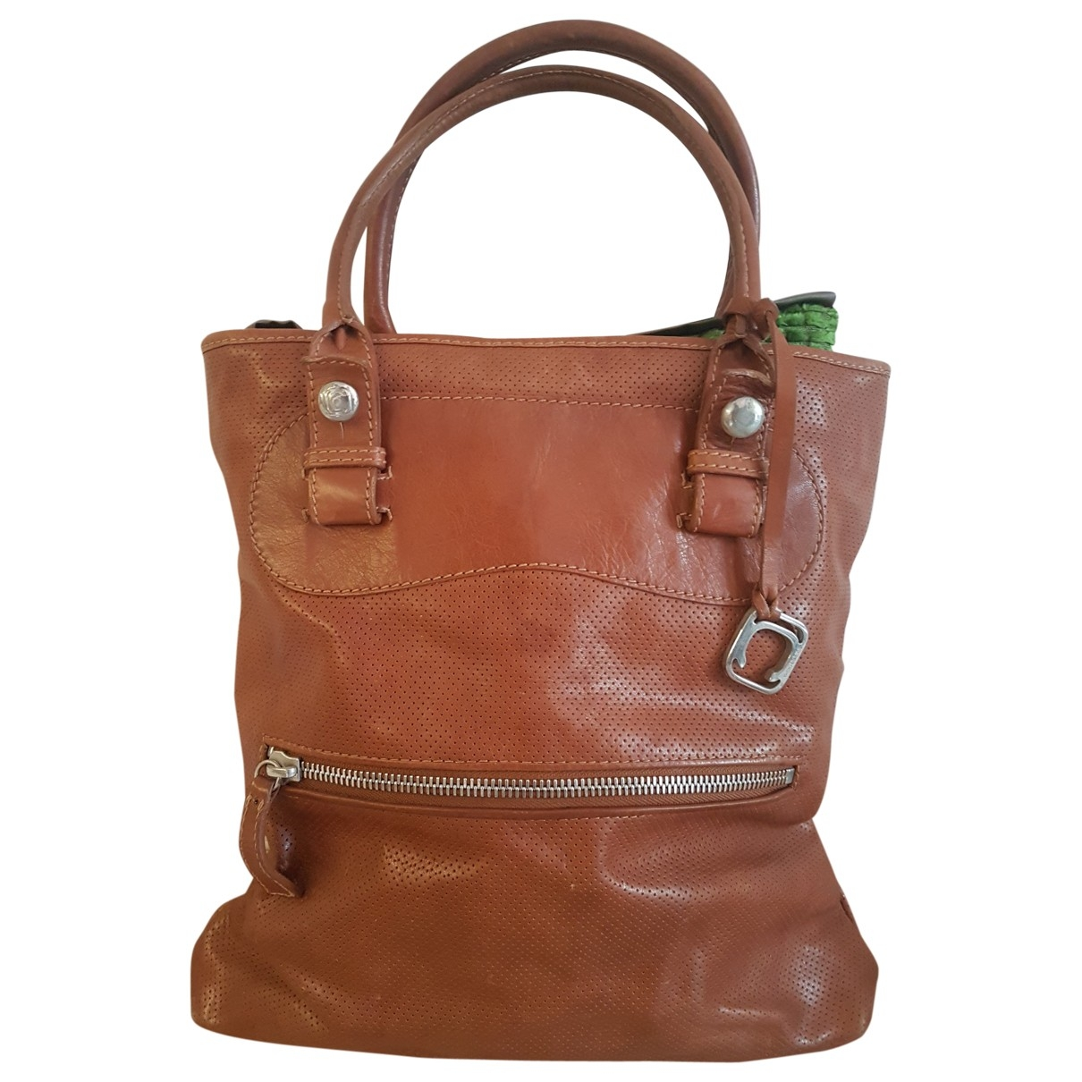 Orciani \N Brown Leather handbag for Women \N