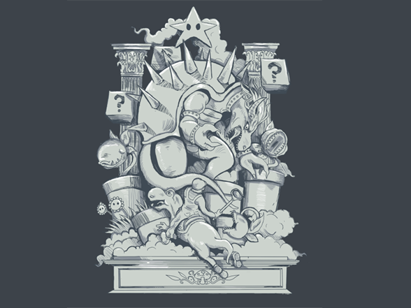 Battle Fungale T Shirt