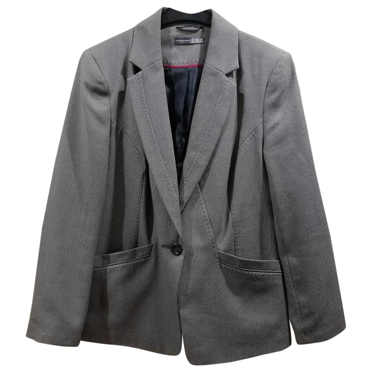 - Veste Oversize pour femme - gris