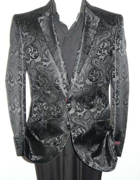 Mens Blazer Black(Wholesale Price $75 (20PC&UPMinimum))