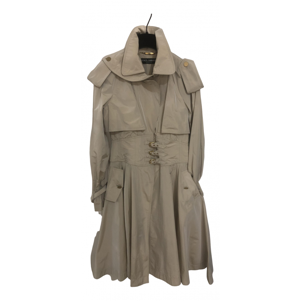 Dolce & Gabbana - Trench   pour femme - beige