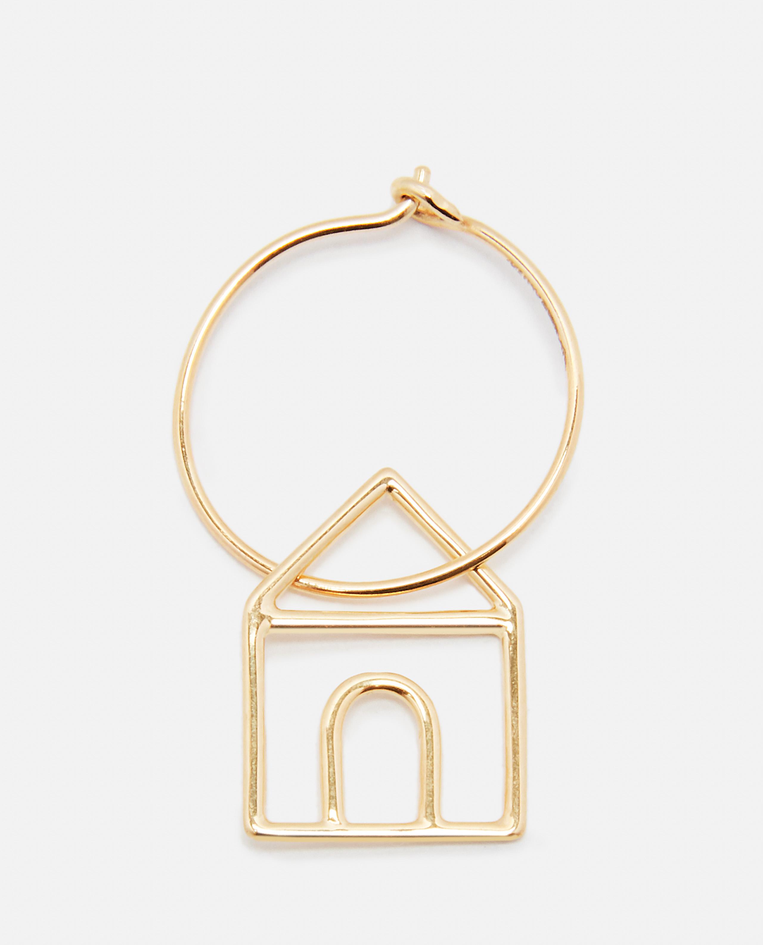 Casita Pura earring in 9kt gold