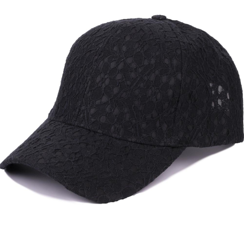 Women Lace Sun Hat Vogue Wild Breathable Adjustable Summer Outdoor Travel Baseball Cap