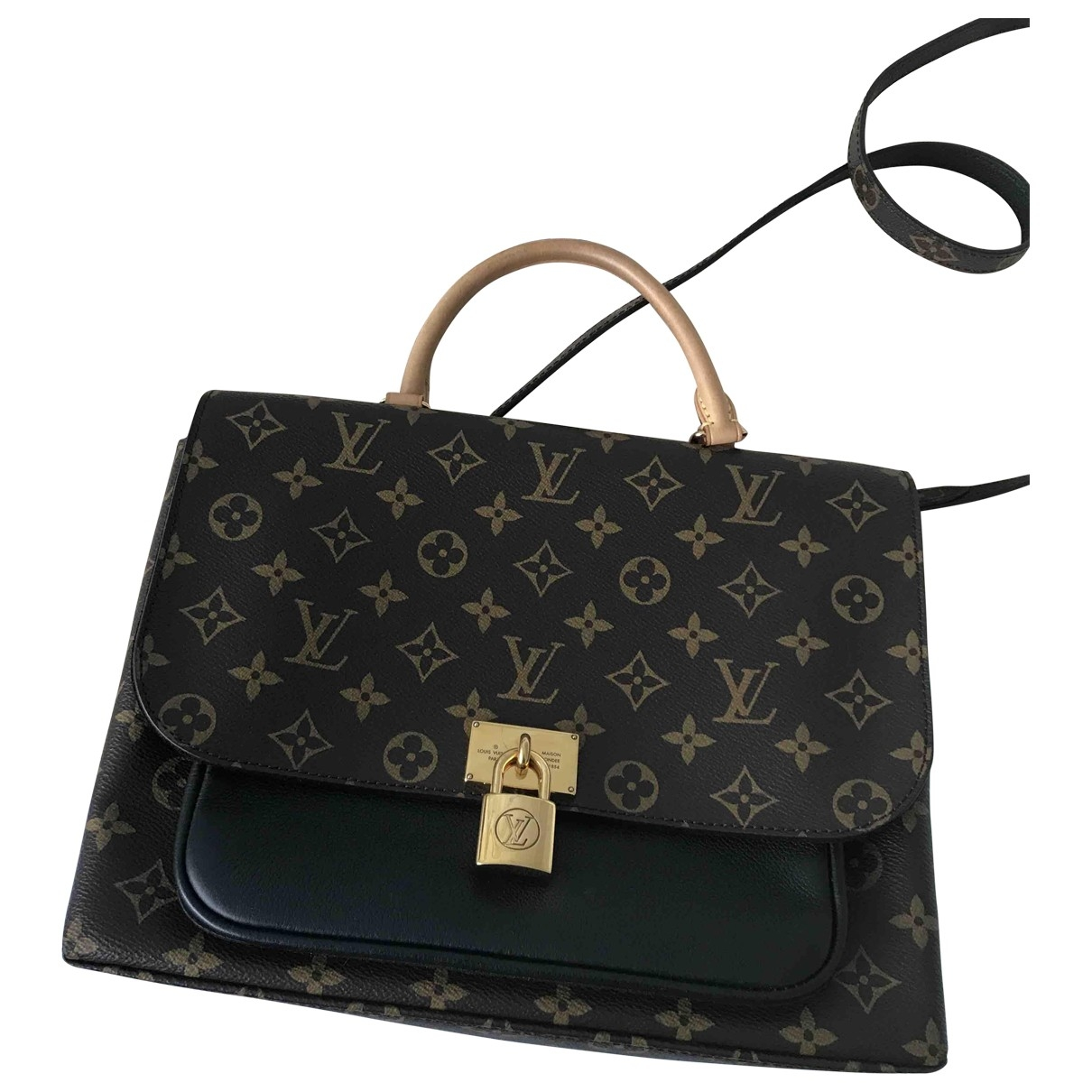 Louis Vuitton Marignan Brown Cloth handbag for Women \N