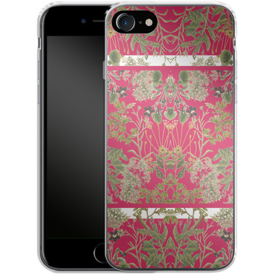 Apple iPhone 8 Silikon Handyhuelle - Botanic Frames von Zala Farah