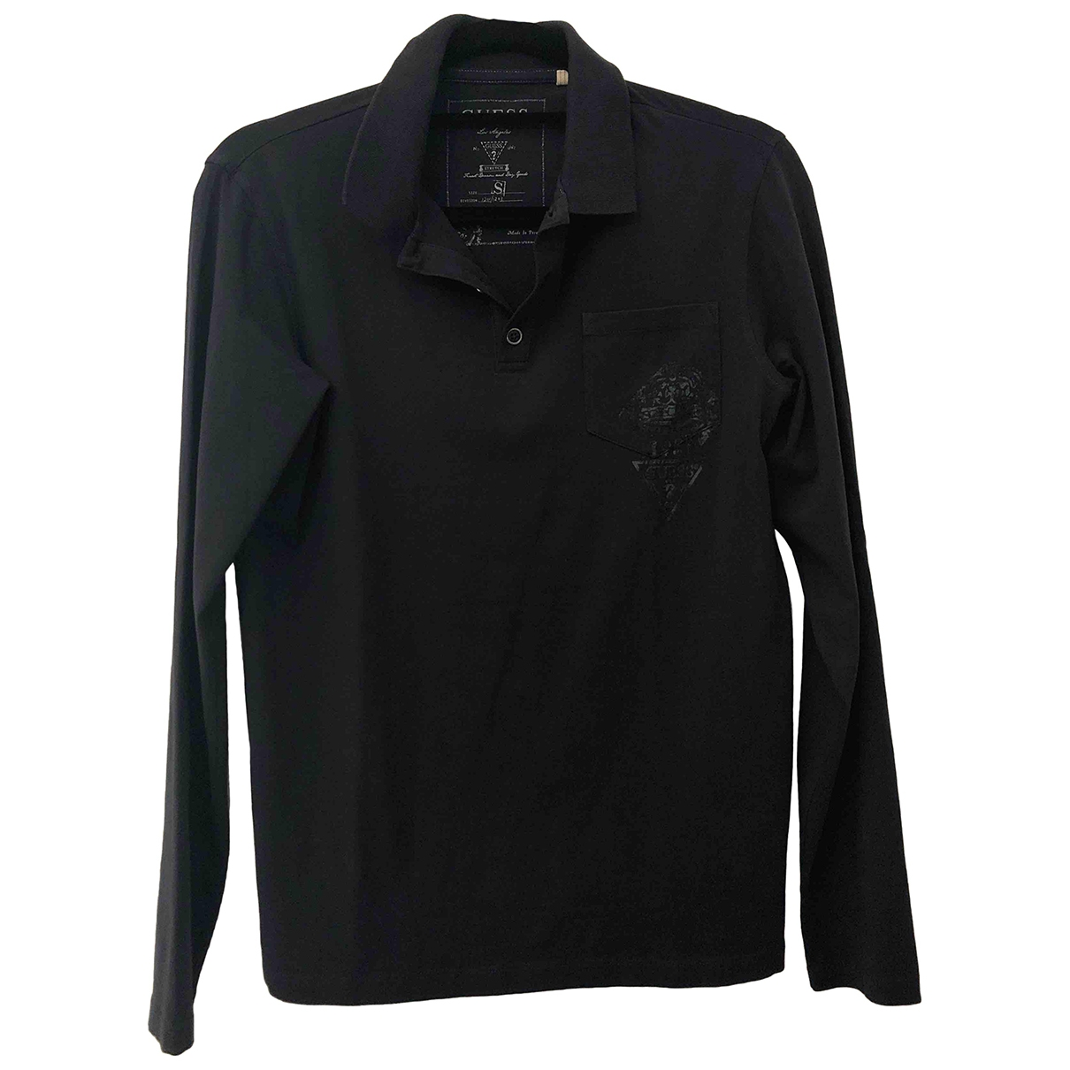 Guess \N Blue Cotton Polo shirts for Men S International