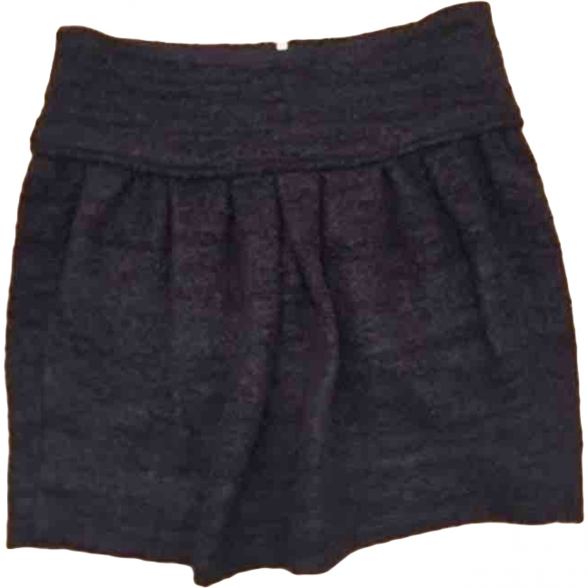 Isabel Marant \N Blue Wool skirt for Women 38 FR