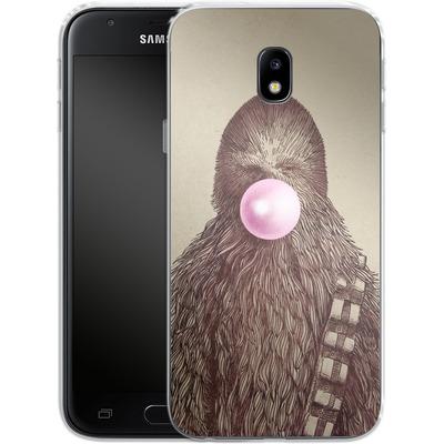 Samsung Galaxy J3 (2017) Silikon Handyhuelle - Big Chew von Eric Fan