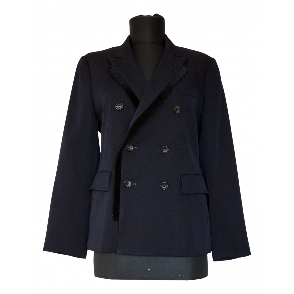 Comme Des Garcons \N Navy Wool jacket for Women S International