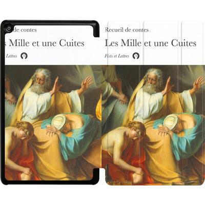 Amazon Fire HD 8 (2018) Tablet Smart Case - Mille Et Une Cuites von Fists Et Lettres