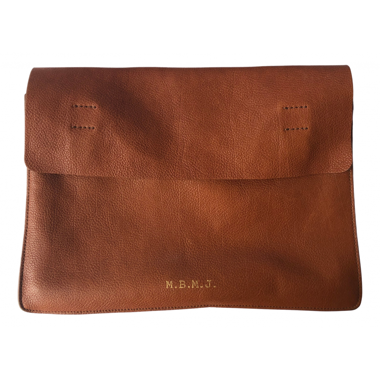 Marc By Marc Jacobs \N Brown Leather bag for Men \N