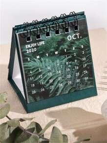 1pc Random 2021 Desk Calendar