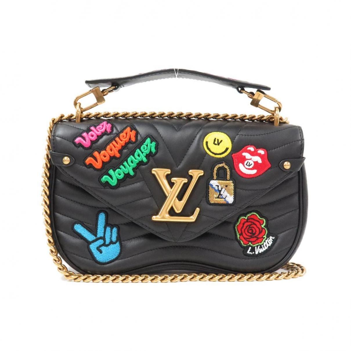 Louis Vuitton New Wave Handtasche in  Schwarz Leder