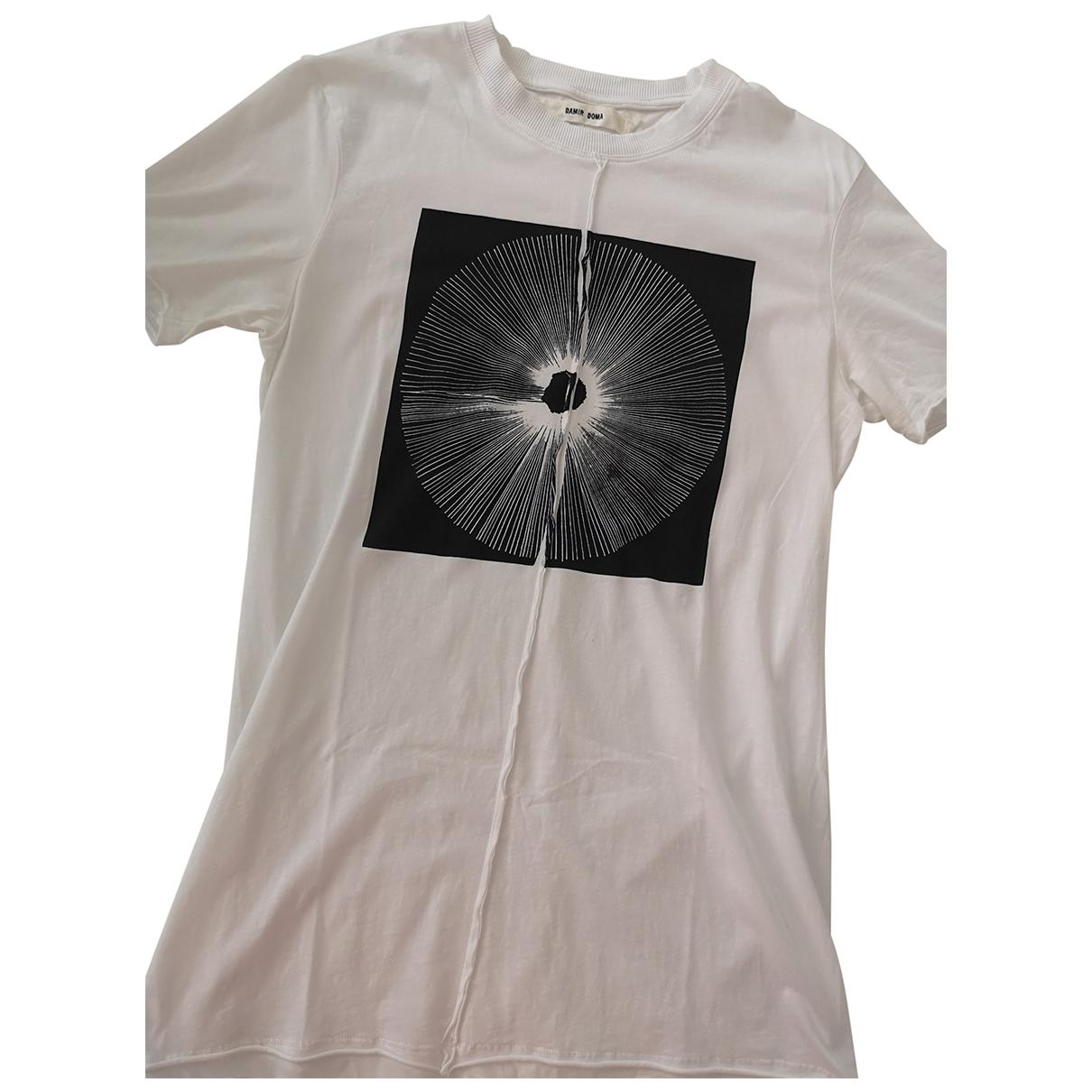 Damir Doma - Tee shirts   pour homme en coton - blanc