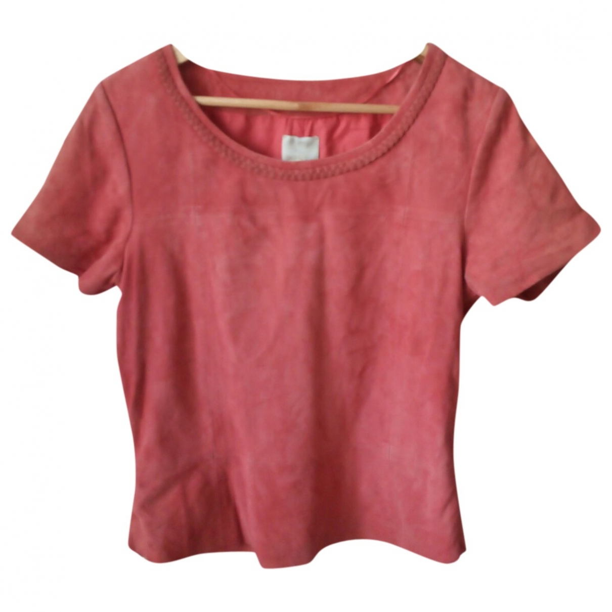 Pablo \N Red Suede  top for Women 42 IT