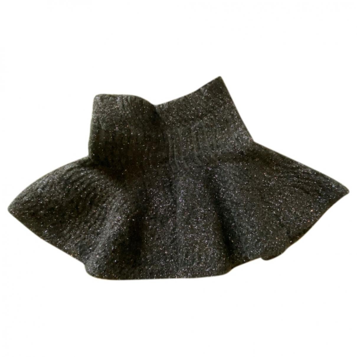 Kenzo \N Rocke in  Schwarz Wolle