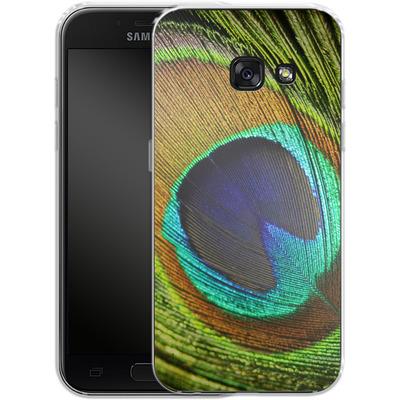 Samsung Galaxy A3 (2017) Silikon Handyhuelle - Peacock von Mark Ashkenazi