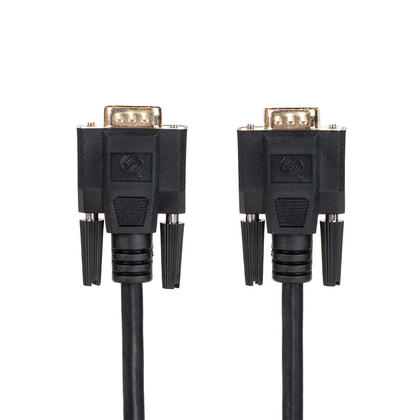 High Quality 25ft Super VGA HD15 M/M Cable w/Double Shielding (Gold Plated) - PrimeCables®