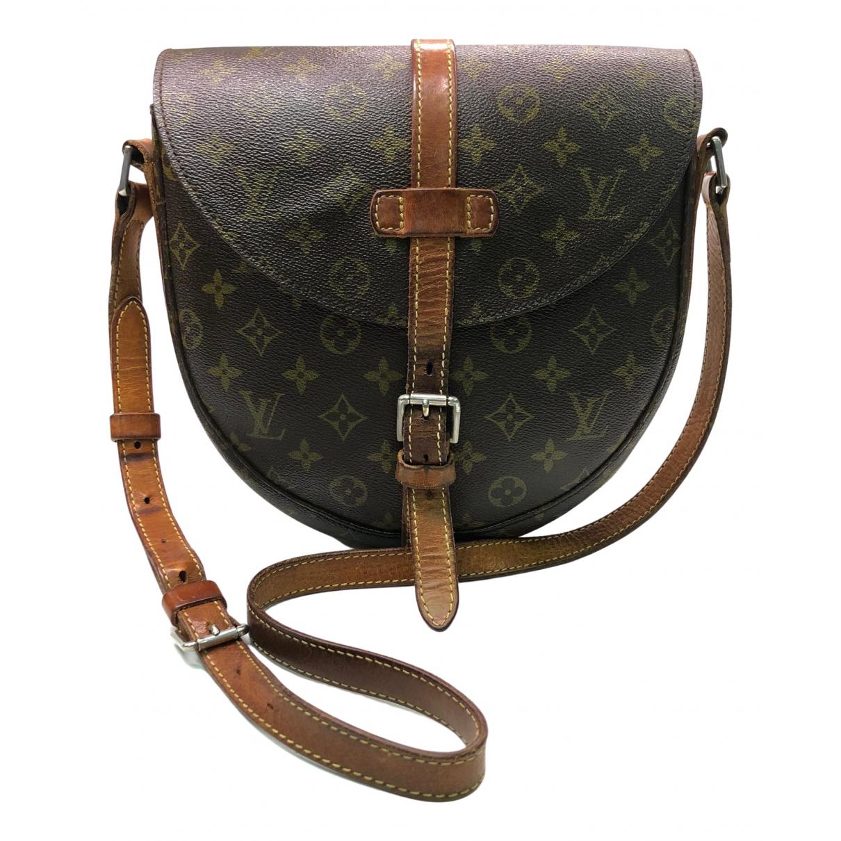Louis Vuitton Chantilly Handtasche in  Braun Leinen