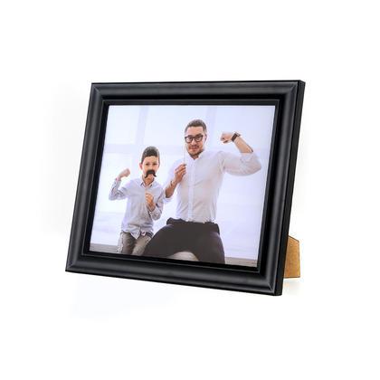 Cadre photo pour mur ou table, 4 / paquet - Noir, 8