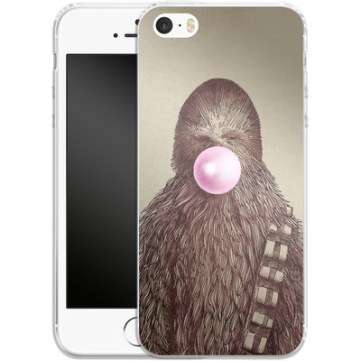 Apple iPhone 5 Silikon Handyhuelle - Big Chew von Eric Fan