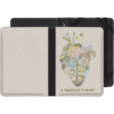 PocketBook Touch 622 eBook Reader Huelle - A Travelers Heart von Bianca Green