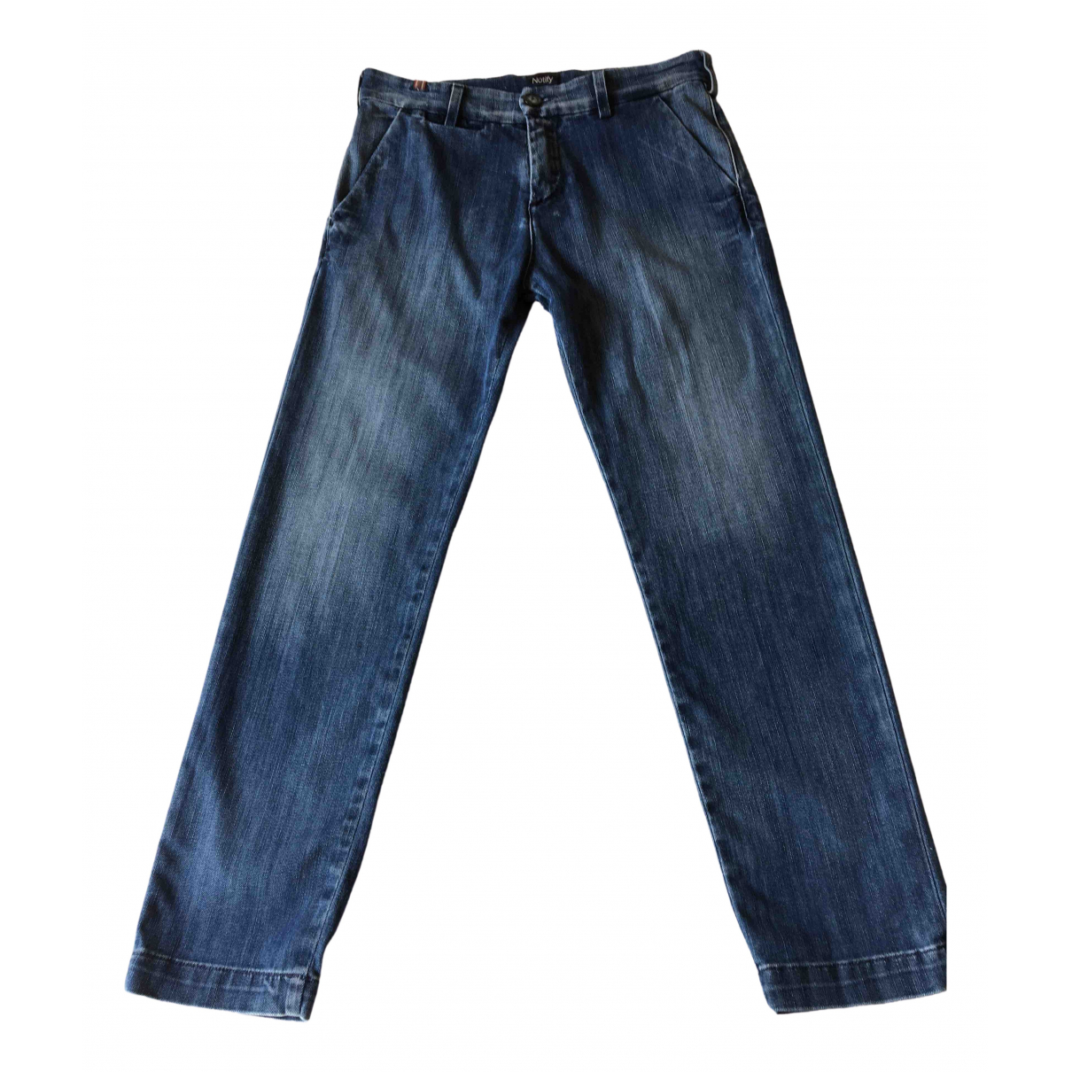 Notify \N Blue Cotton - elasthane Jeans for Women 26 US