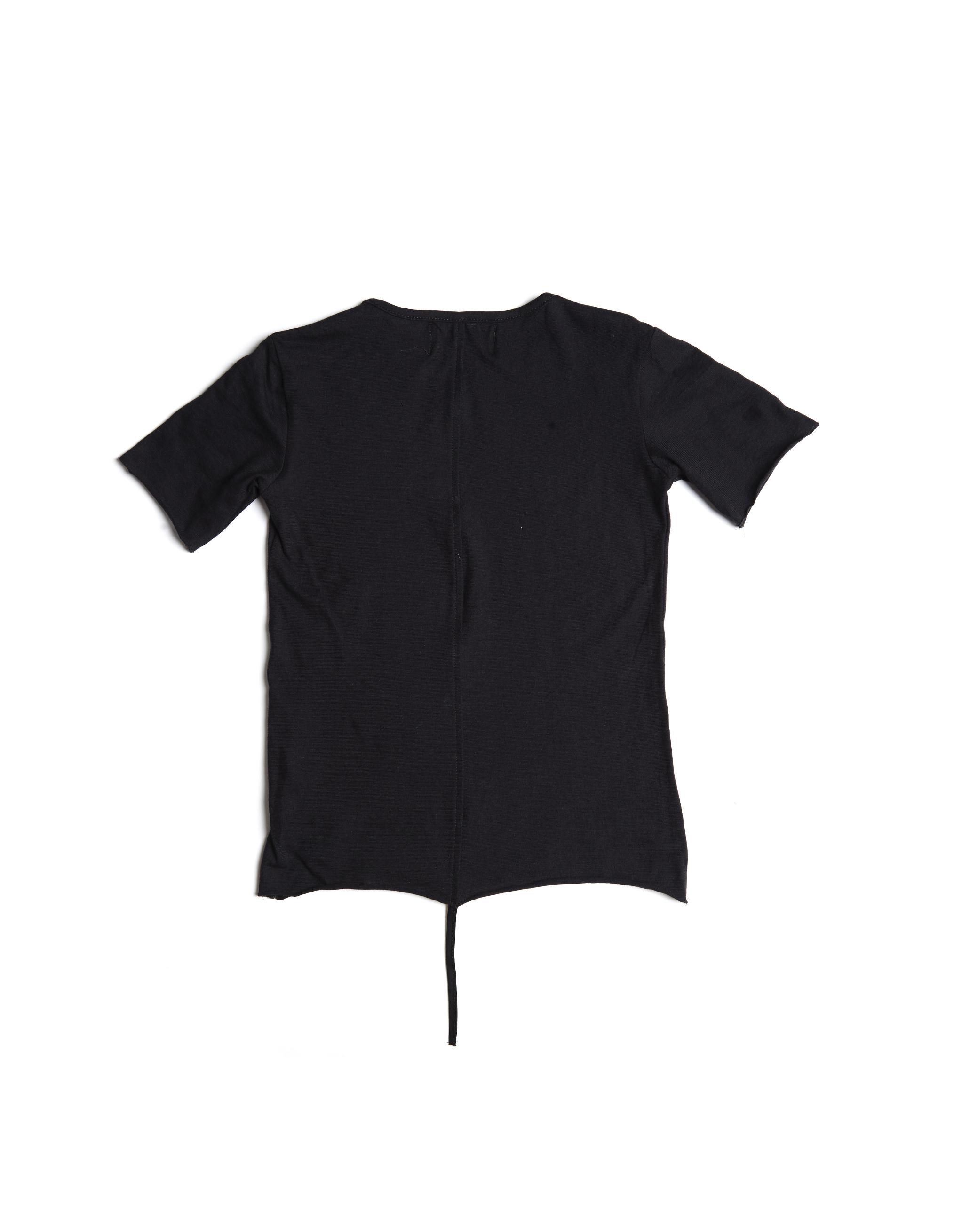 Lost&Found kids Dad Black Cotton T-Shirt