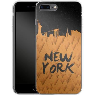 Apple iPhone 7 Plus Silikon Handyhuelle - New York City von Danny Ivan