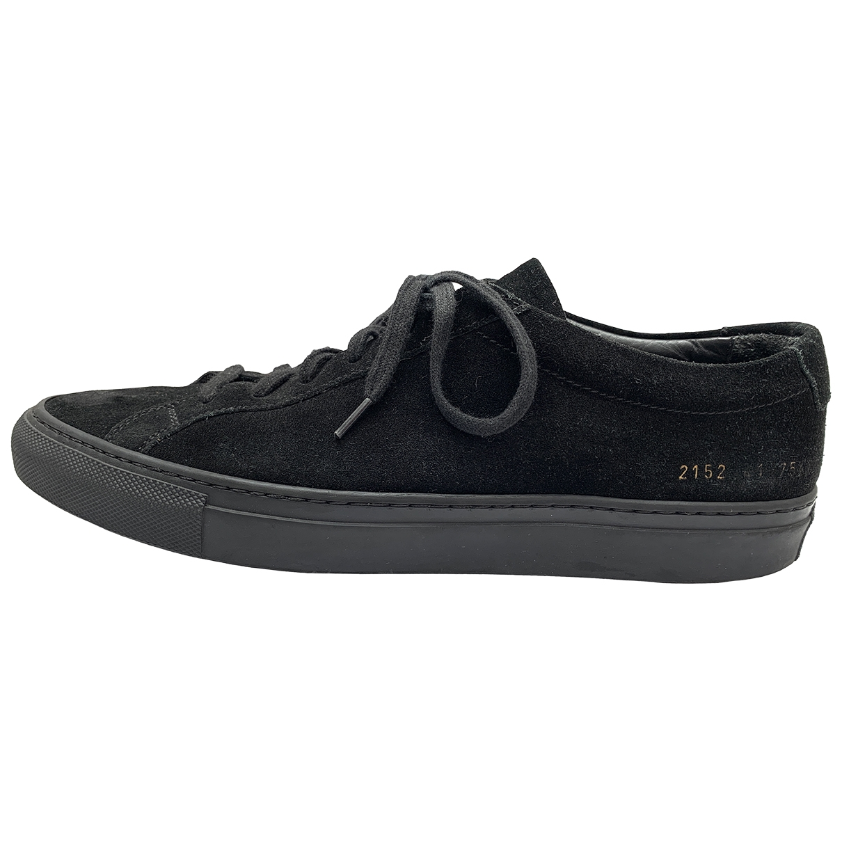 Common Projects \N Black Suede Trainers for Men 41 IT