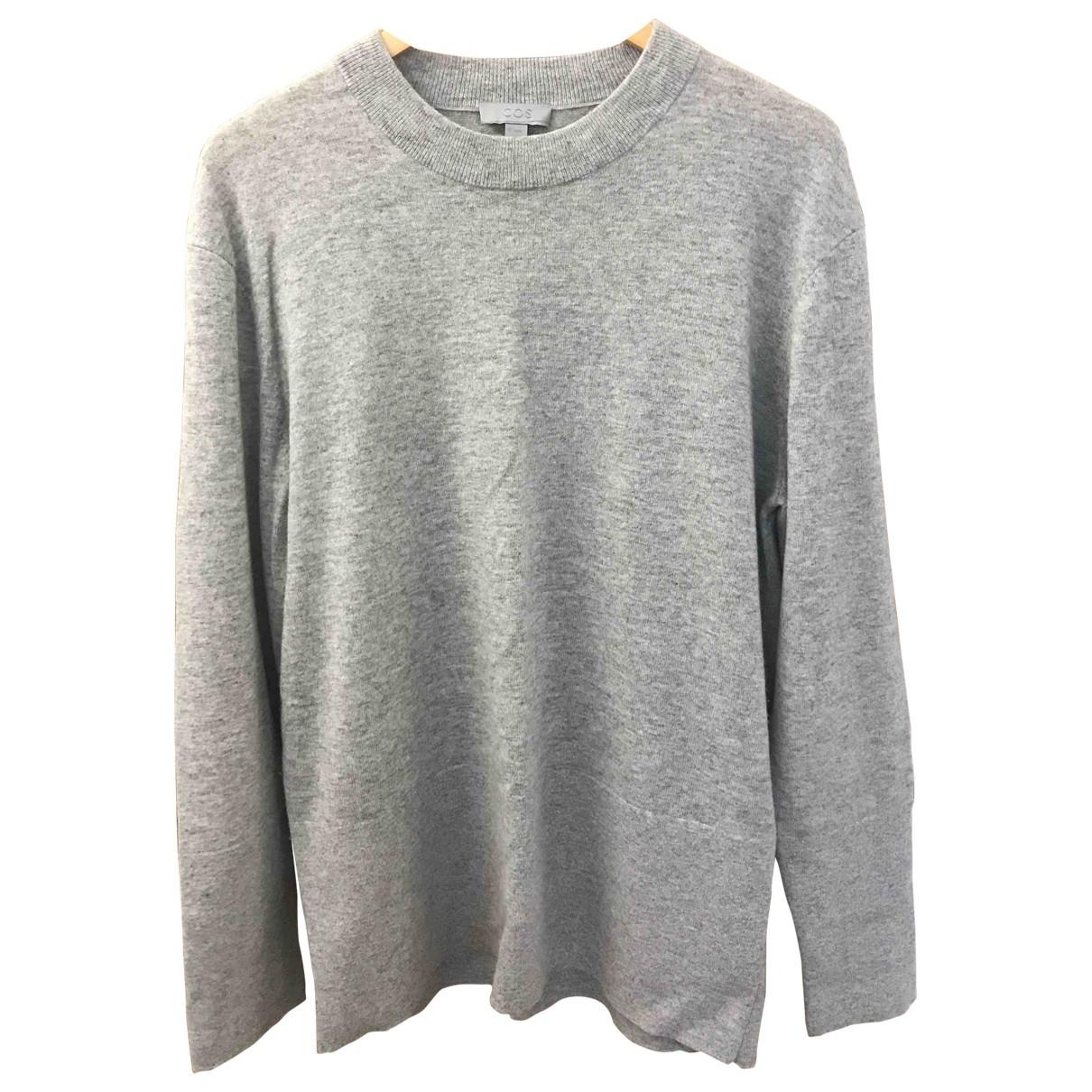Cos \N Pullover.Westen.Sweatshirts  in  Grau Kaschmir
