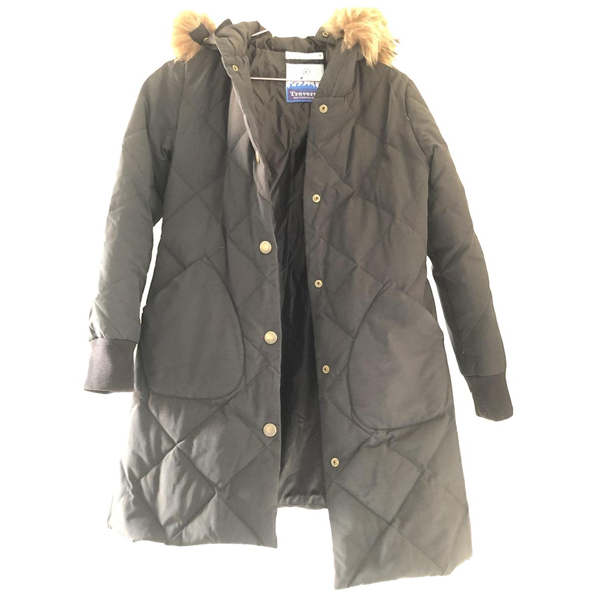 Head Porter Plus \N Black Fur  top for Women 6 UK