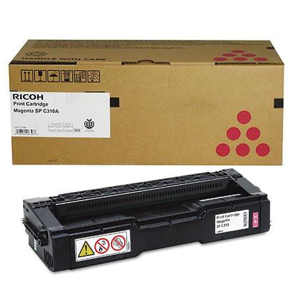 Ricoh 406477 Original Magenta Toner Cartridge High Yield