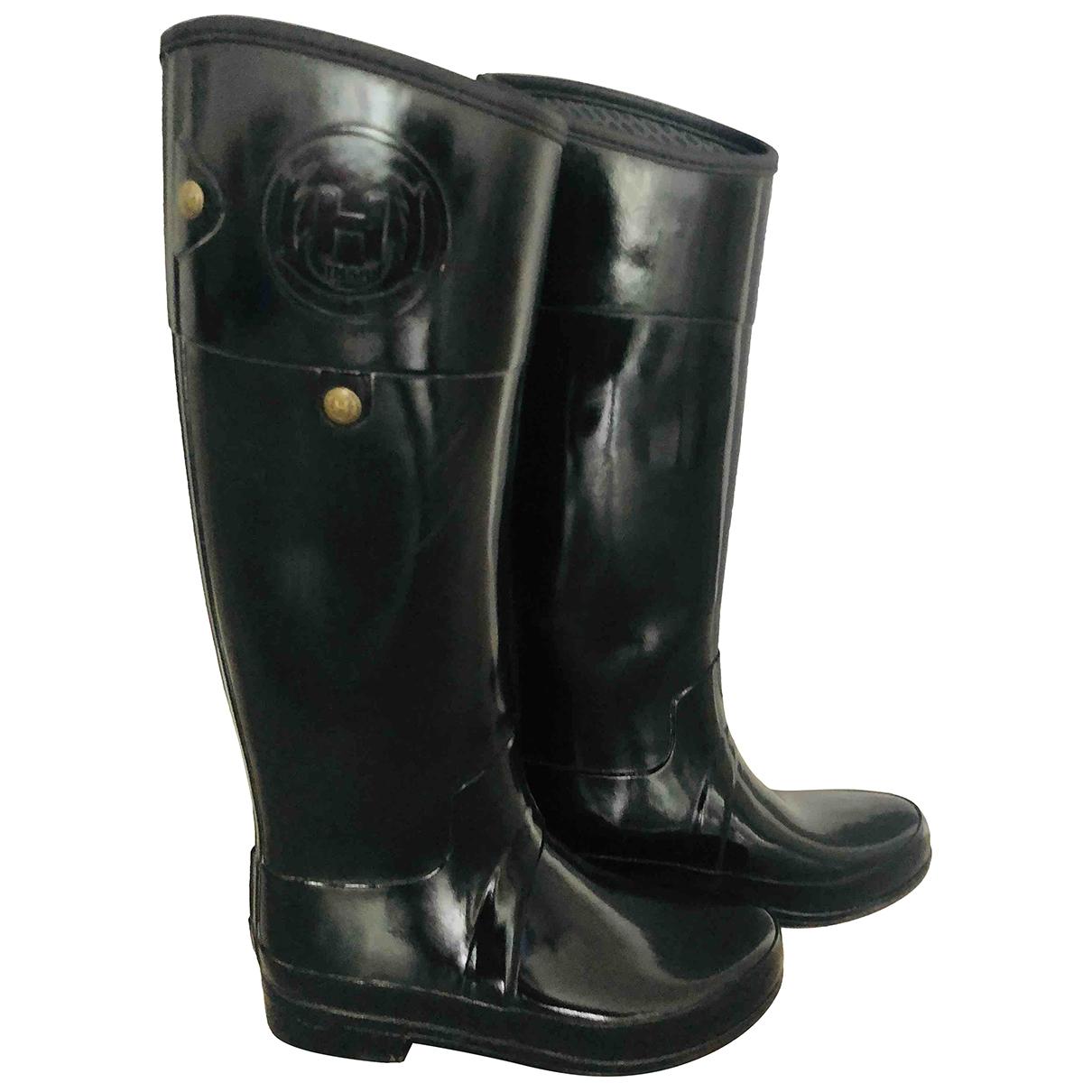 Hunter - Boots   pour femme en caoutchouc - noir