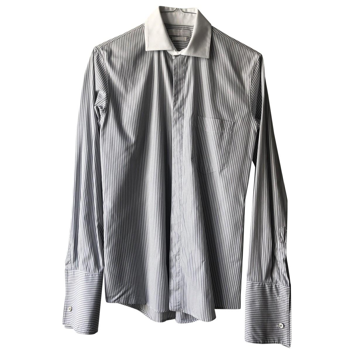 Alexander Mcqueen - Chemises   pour homme en coton - blanc