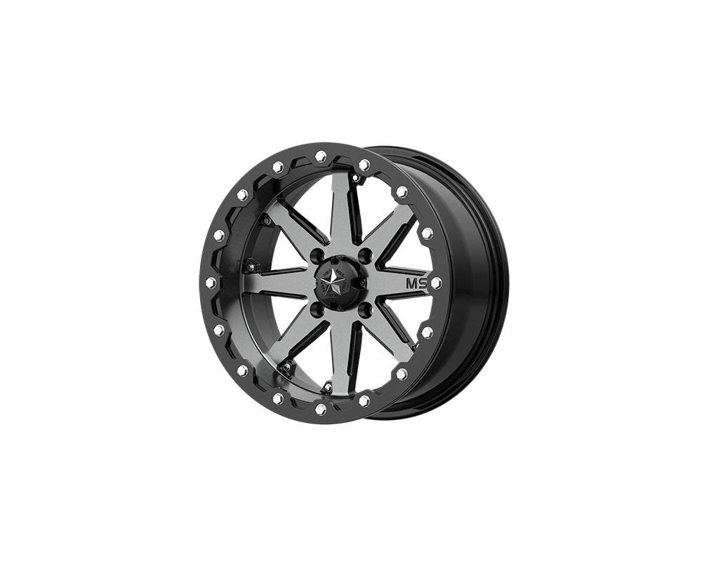 MSA Offroad Wheels M21-04737 M21 LOK Wheel 14x7 4x4x137 +0mm Charcoal Tint