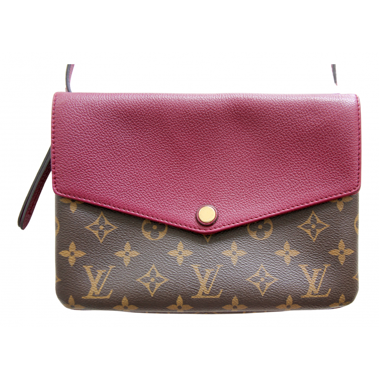 Louis Vuitton - Sac a main Twice pour femme en toile - marron
